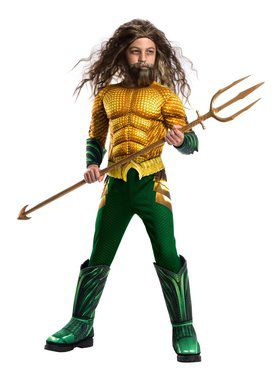 Kid's Aquaman Movie Deluxe Aquaman Costume