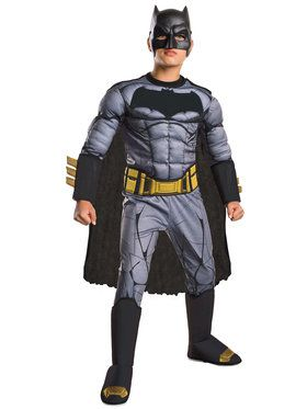 Boy's Batman v Superman Deluxe Batman Costume