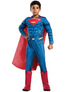 Boys Batman v Superman Deluxe Superman Costume