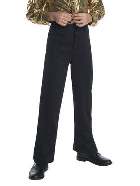Black Boys Disco Pants