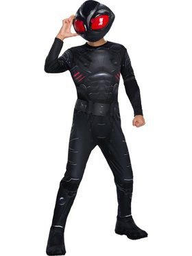 Kid's Aquaman Movie Black Manta Costume
