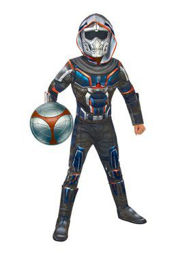 Boy's Black Widow Movie Task Master Deluxe Costume