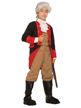 British Red Coat Boys Costume
