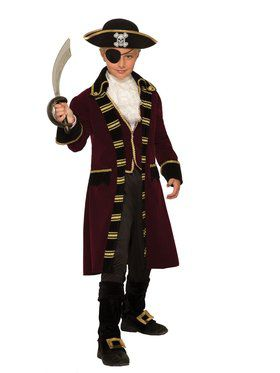 Buccaneer Captain Boys Costume