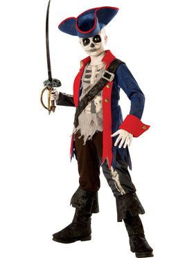Captain Bones Boys Costume