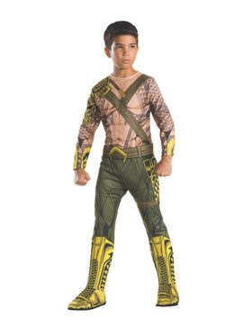 Boy's Kid's Classic Aquaman Costume