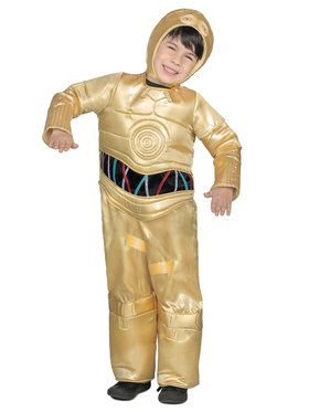 Classic Star Wars Premium C-3PO Boys Jumpsuit Costume