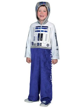 Classic Star Wars Premium R2D2 Boys Costume