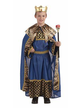 Boys Deluxe King of the Kingdom Costume