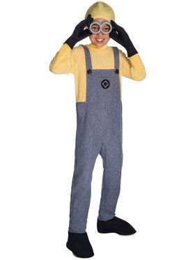 Minion Dave Costume Deluxe For Children