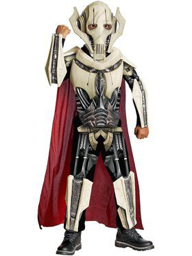 Boys Deluxe Star Wars General Grievous Costume