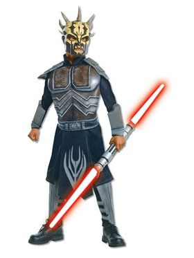 Star Wars Boy's Deluxe Savage Opress Classic Costume