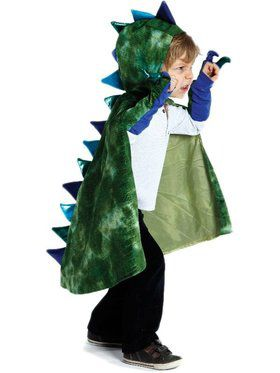 Boy's Dragon Cape and Claws Set