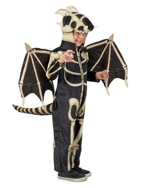 Dragon Skeleton Boys Costume