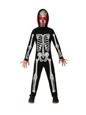 Fade In Fade Out Skeleton Costume for Children