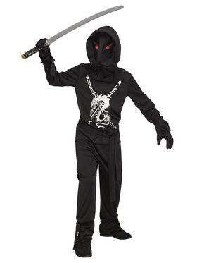 Boys Fade In & Out Ninja Costume