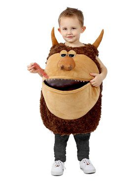 Feed Me Wild Man Child Costume