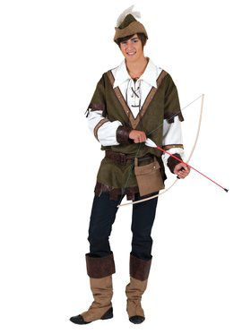 Boys Forest Robin Hood Costume