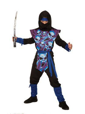 Ghost Ninja Costume for Boys