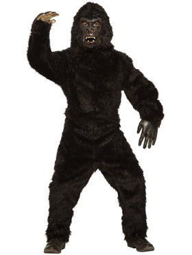 Gorilla Costume for Children (Medium)