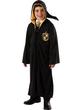 Harry Potter Hufflepuff Robe Costume For Boys