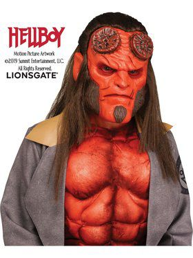 Boys Flexible Hellboy Mask