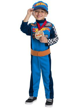 Speedy Driver Hot Wheels Jumpsuit for Boys