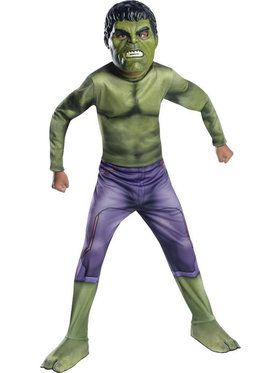 Boy's Kid's Hulk Costume