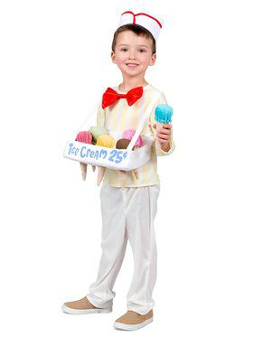 Ice Cream Salesman Boy's Costume