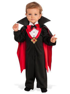 Dapper Drac Costume For Children