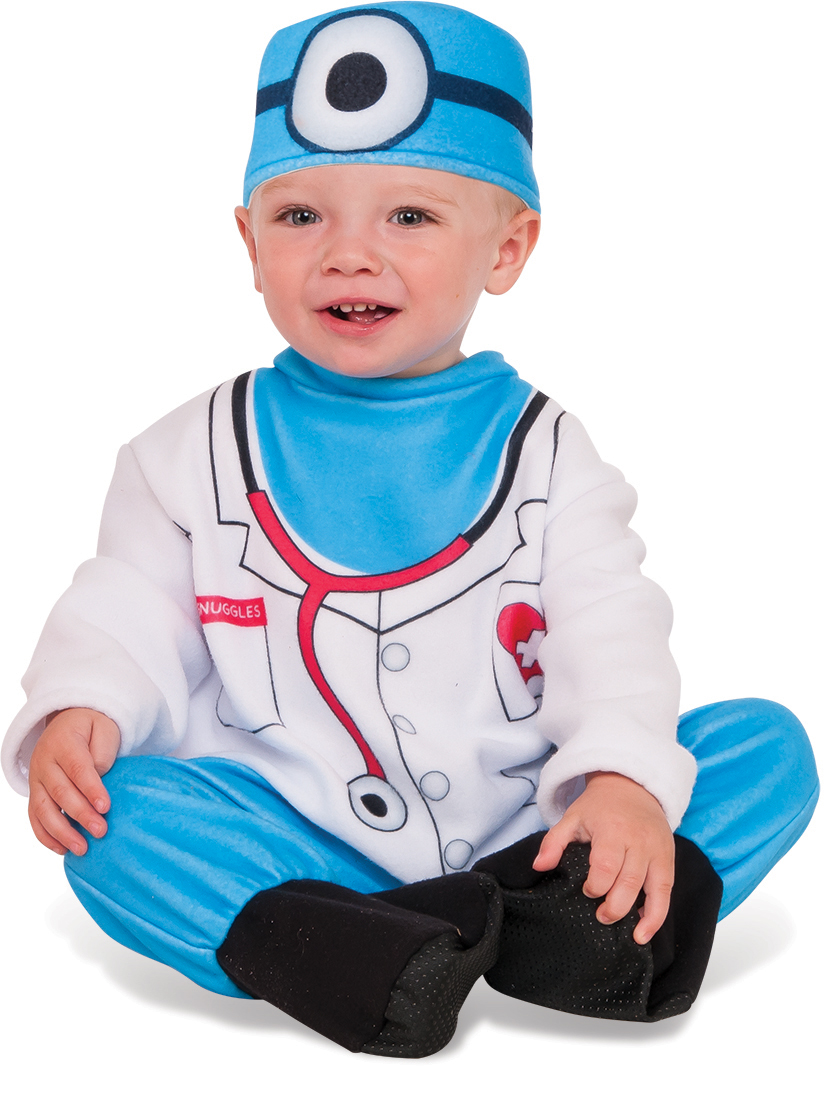Rubie's Boys Infant Toddler Doctor Snuggles Costume
