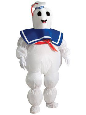 Boys Inflatable Ghostbusters Stay Puft Costume