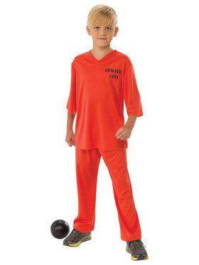 Inmate 101 Costume for Boys