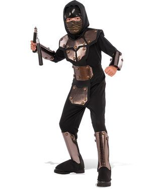 Boys Iron Phantom Ninja Costume