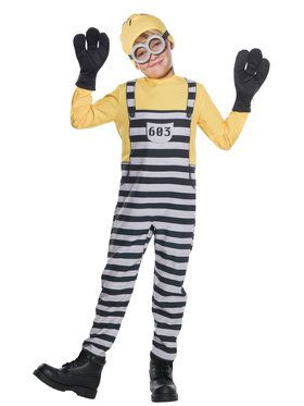 Jail Minion Tom Costume For Children