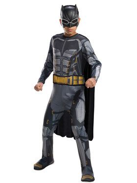 Boys Tactical Batman Justice League Costume