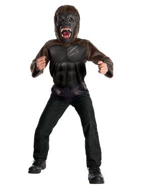 King Kong Deluxe Costume For Boys