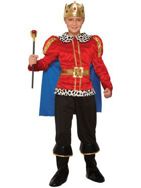 Boys Majestic King Costume