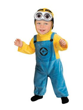 Boys Minion Costume Toddler
