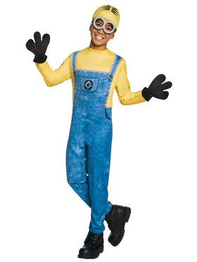 Minion Dave Costume For Children