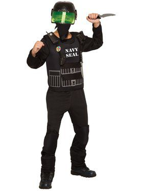 Navy Seals Boys Costume
