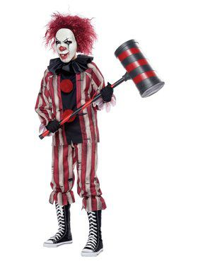 Boys Horror Clown Costume