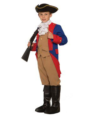 Patriotic Soldier Boys Costume