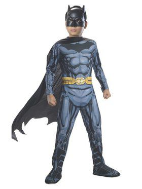 Boys Photo Real Batman Costume M Child Costume