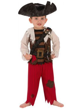 Boys Pirate Matey Costume