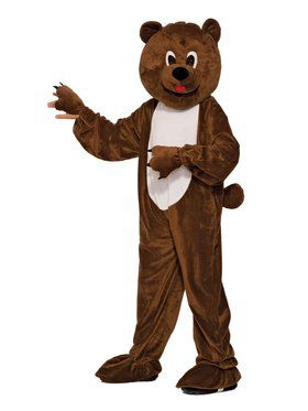 Plush Bear Boys Costume