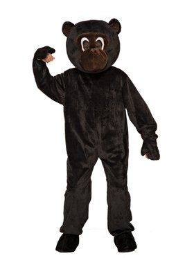 Plush Monkey Boys Costume