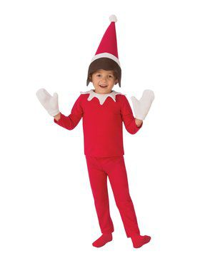 Boy's Sitting Elf Costume