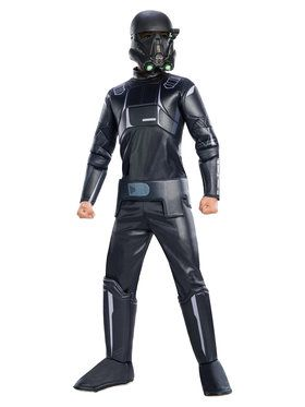 Boys Star Wars Rogue One Death Trooper Deluxe Costume