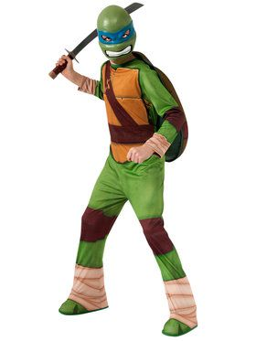 Boys Teenage Mutant Ninja Turtles Leonardo Costume